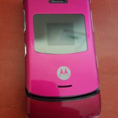 Telefon Motorola V3 ROZ / impecabile / MODEL IMPECABIL, Nu se aplica, Neblocat