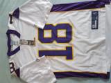 Tricou NFL Vikings, M/L, Alb, Reebok