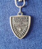 "Breloc Brigada 2 Vanatori de munte - "" Sarmizegetusa "" - Insigna"
