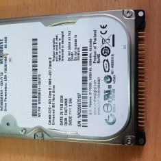 """HDD-03.HDD Laptop 2.5"""" IDE 80 GB Western Digital WD800BEVE 5400 RPM 8 MB, 41-80 GB"""