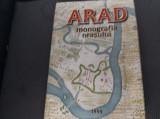 ARAD  MONOGRAFIA ORASULUI DE LA INCEPUTURI PANA IN 1989