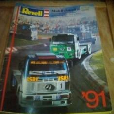 CATALOG MACHETE REVELL 1991