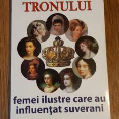 Pe treptele tronului. Femei ilustre care au influentat suverani Edmond Rossier, Alta editura