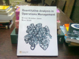Quantitative analysis in operations management - Alistair Brandon Jones (Analiza cantitativă în managementul operațiunilor)