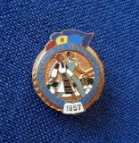 Insigna Festivalul tineretului - 1957 - Timisoara