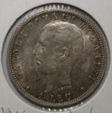 OKAZIE !!! 1 LEU 1906 . UNC . PIESA 2 ., Argint
