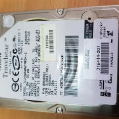 "HDD-07.HDD Laptop 2.5"" IDE 40 GB Hitachi 5400 RPM 8 MB, Sub 40 GB"