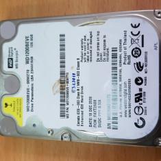 """HDD-08.HDD Laptop 2.5"""" IDE 120 GB  Western Digital 5400 RPM 8 MB, 100-199 GB"""
