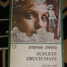 RWX 28 - SUFLETE ZBUCIUMATE - STEFAN ZWEIG - EDITATA IN 1992