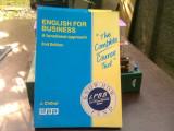 English for business, a functional approach - J. Chilver (Engleză pentru afaceri, o abordare funcțională)
