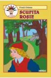 Scufita Rosie - Fratii Grimm (carte de colorat)