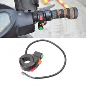INTRERUPATOR moto MOTOCICLETA bicicleta trotineta electrica ATV cu semnalizare