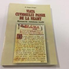 VIATA CUVIOSULUI PAISIE DE LA NEAMT- MANUSCRIS ROMANESC INEDIT