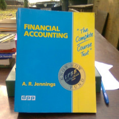 Financial accounting - A.R. Jennings (Contabilitate financiara)