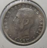 OKAZIE !!! 1 LEU 1906 . UNC . PIESA 1 ., Argint