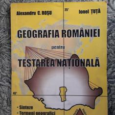 GEOGRAFIA ROMANIEI PENTRU TESTAREA NATIONALA - ROSU , TUTA
