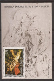 S. TOME E PRINCIPE 1983 PICTURA RUBENS (colita dantelata) MNH, Nestampilat