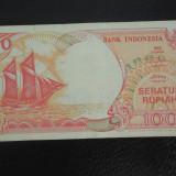BANCNOTA INDONESIA-100 RUPII-1992-CIRCULATA
