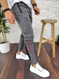 Pantaloni de trening pentru barbati - GRI - PREMIUM - A2793, Din imagine