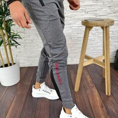 Pantaloni de trening pentru barbati - GRI - PREMIUM - A2793 96-4, Din imagine