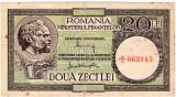 Bancnota  20 lei 1947 - 1950 MF Alexandrini /Gheorghiu