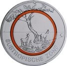 Germania 5 Euro 2018 G - Subtropical Zone, Cupru-nichel, 27.25mm, KM-New UNC !!!, Europa