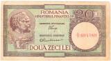 Bancnota  20 lei 1947 - 1950 MF Luca/Rubicec