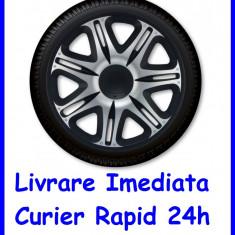 Set Capace auto Roti 15 `` J-Tec Gorecki Nascar Silver Black