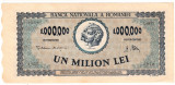 Bancnota 1000000 1.000.000 lei 1947 portret Decebal+Traian (2)