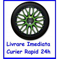 Set Capace auto Roti 15 `` J-Tec Gorecki Orden Green Black