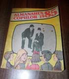 Almanahul copiilor 1985 benzi desenate de Vasile Olac, Valentin Tanase, Pompiliu