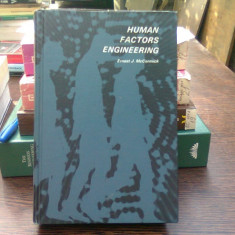Human factors engineering - Ernest J. McCormick (Ingineria factorilor umani)