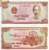 Vietnam, 200 Dong 1987, UNC_Ho Chi Minh