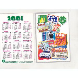 bnk cld Calendar de buzunar 2001 - Loteria Nationala
