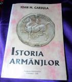 Ioan M Cardula - Istoria armanjilor / aromanilor. aromani. dedicatie si autograf