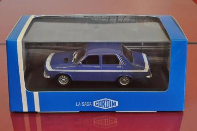 Macheta (Dacia 1300) RENAULT 12 Gordini 1:43 foto