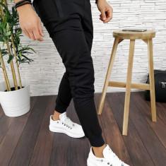 Pantaloni de trening pentru barbati - NEGRI - PREMIUM - A2798 94-1, Din imagine