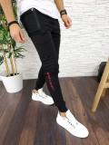 Pantaloni de trening pentru barbati - NEGRI - PREMIUM - A2797 96-1, Din imagine