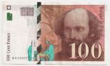 FRANTA 100 FRANCI FRANCS 1997 VF