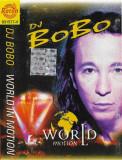 Caseta DJ BoBo – World In Motion, originala