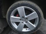 Jante aliaj VW Borbet R17 + anvelope iarnă noi Riken, 17, 6,5