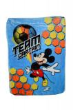 Paturica groasa Mickey Mouse 110 x 80 cm Disney MKY02, Albastru