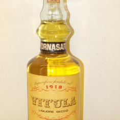 BRANDY fornasari, vitula LIQUORE SECCO, L. 1 GR 42 - ANII 50/60
