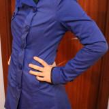 Palton primăvară/toamnă, Albastru, L