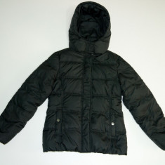 Geaca de iarna, calduroasa, usoara, puf gasca, C&A → fete | 10—11 ani | 146 cm, Alta, Negru
