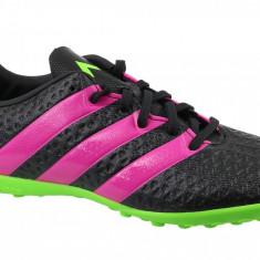 Cizme de fotbal gazon adidas Ace 16.4 TF J AF5081 pentru Copii, 28, 38, 38 2/3, Negru