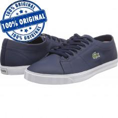 Pantofi sport Lacoste Riberac LCR3 SPM pentru barbati - adidasi originali piele, 43, Piele naturala