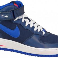 Pantofi sport Nike Air Force 1 Mid Gs 314195-412 pentru Copii, 38, 38.5, Albastru