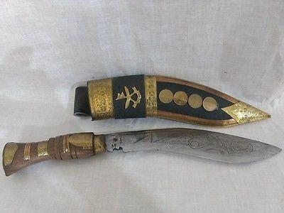 Maceta cuțit Kukri Gurkha foto