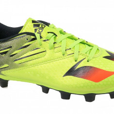 Cizme de fotbal Adidas Messi 15.4 FxG S74698 pentru Barbati, 42, 44 2/3, Verde